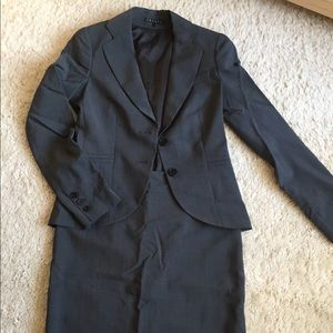 Theory Jacket/Skirt Suit